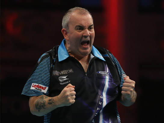 19th May | The Potters Super 8 Darts League featuring Phil 'The Power' Taylor