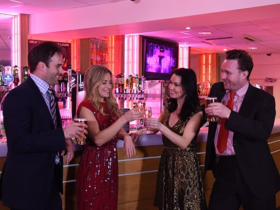 22nd December | Potters Christmas Ball Drinks Inclusive* One Night Break